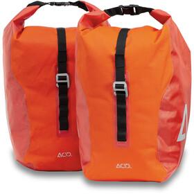 Cube ACID Tourer 20/2 Borsa da Ciclismo, rosso/arancione
